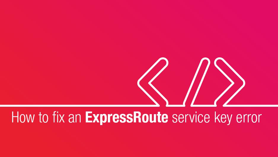 xpressRoute Service Key