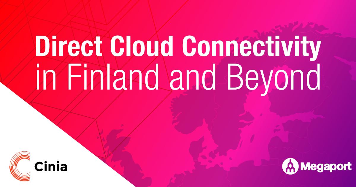 Cinia Cloud Connectivity Nordics